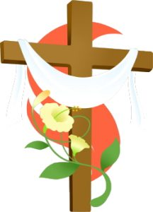 Easter Services in the North Hartismere Benefice, which encompass the parishes: Brome and Oakley (St. Mary's and St. Nicholas'), Burgate (St.Mary of Pity), Palgrave (St. Peter's), Stuston (All Saint's), Thrandeston (St. Margaret of Antioch), Wortham (St. Mary the Virgin)