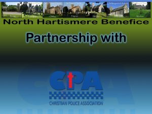 Partnership CPA UK and North Hartismere Benefice